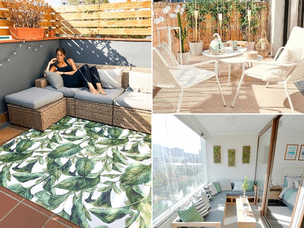Ideas para decorar una terraza grande con poco dinero