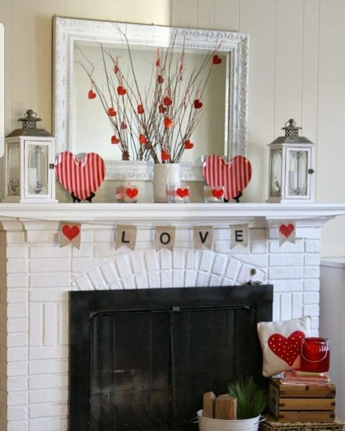 Chimeneas románticas San Valentín